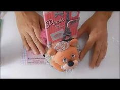 #porta celular#ursinha princesa - YouTube