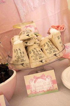 Nursery Rhyme Themed Little Bo Peep Sweet Pink Birthday Party