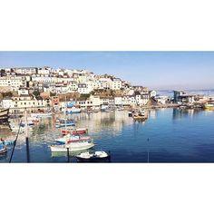 Dreaming of beautiful Brixham Harbour in Devon. http://www.parkholidays.com/devon-caravan-holiday-parks