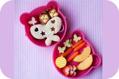 Butterfly bento from www.bentomama.net