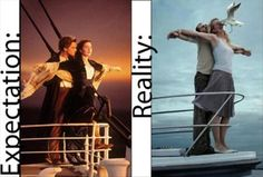 That'd be funny if this happened on Titanic!
