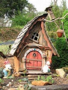 Cool fairy house