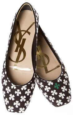 Yves Saint Laurent (YSL) Flats @FollowShopHers