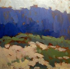 """Contemporary Impressionism Sand Dunes Landscape Heidi Malott"" - Original Fine Art for Sale - © Heidi Malott"