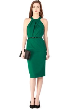 Great length, great colour.  Can be versatile with different cardigans/blazers and accessories...