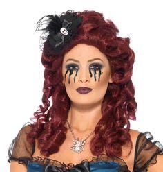 Halloween Hats, Halloween Vampire, Halloween Outfits, Halloween Face Makeup, Halloween Ideas, Vampire Fancy Dress, Witch Fancy Dress, Witch Outfit, Skull Design