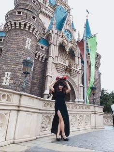 ディズニーでヴィランズコーデしてきました!今回は、アースラをイメージしていきましたが、かーずのポップ