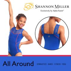 """You're an All-Round super-star in this perfectly tailored leo. Everything about it screams """"winner!"""" So get yours today - it's only $39.99!"""
