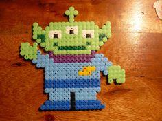 Toy story Alien Hama beads