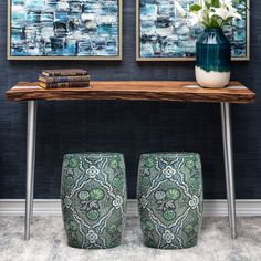 #homedecor #homedecorating #interiordesign #design #interiors #homeaccents #homeaccessories #furniture #decorating #green #greendecor #garden #gardenstools #stools #stacygarcia Enclosed Patio, Redford House, Green Home Decor, Interior S, Accent Decor, Entryway Tables, Stool, Wall Decor, Indoor