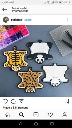 Bear skin rug – Famous Last Words Quilting Beads Patterns Perler Bead Designs, Perler Bead Templates, Hama Beads Design, Diy Perler Beads, Perler Bead Art, Bear Skin Rug, Bear Rug, Melty Bead Patterns, Hama Beads Patterns