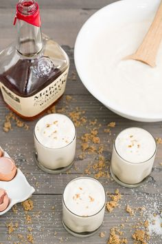 The BEST Butterscotch Eggnog Recipe // Christmas // Holiday Cocktails //