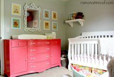 Girls nursery - love