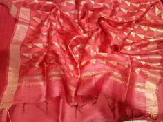 Excited to share this item from my shop: Pure Linen Silk Saree . Saree Blouse, Sari, Professional Women, Indian Wear, Silk Sarees, Pure Products, Cotton, How To Make, Clothes
