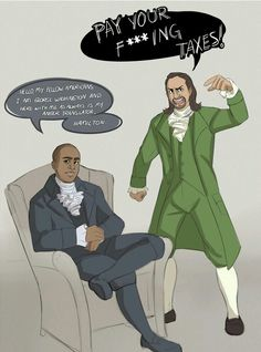 This is my favorite Hamilton Fanart ever