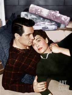 ALL THAT HEAVEN ALLOWS, from left: Rock Hudson, Jane Wyman. I love this movie for the scenery, architecture, and beauty.