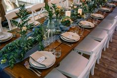 table setting сервировка, столы гостей, рустик