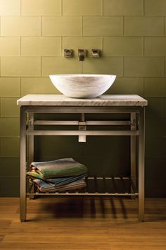 Stainless Console by Stone Forest