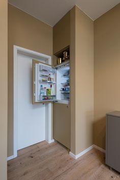 Einbauküche, Kühlschrank, Einbauschrank