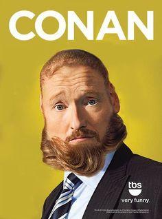 Conan's beard/hair swap