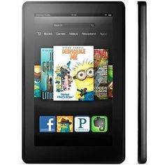 "Amazon Kindle Fire 7"" 8GB Wi Fi Color Tablet eBook Reader Black 400025061732 | eBay"