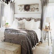 Gorgeous Master Farmhouse Bedroom With Fixer Upper 14