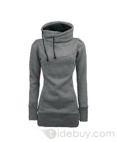 New Arrival Popular Top Quality Pure Color Slim Hoodie : Tidebuy.com amazing hoodie with great look, its a must buy!!!