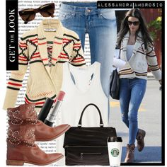 How To Wear Celebrity Style - Alessandra Ambrosio Outfit Idea 2017 - Fashion Trends Ready To Wear For Plus Size, Curvy Women Over 20, 30, 40, 50