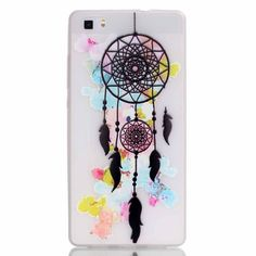 Amazon.com: Huawei P8 lite case, Style Hybrid Fancy Colorful Pattern Hard Soft Silicone Back Case Cover Fit for Huawei P8 Lite (dreamer): Cell Phones & Accessories