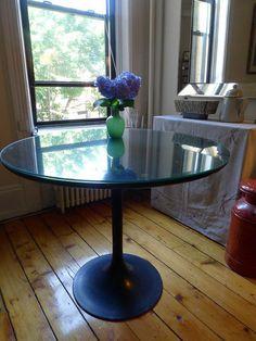 Lovely Tulips Saarinen Tables Burke Chairs Mushroom Lamp The Tuesday Morning Scavenger