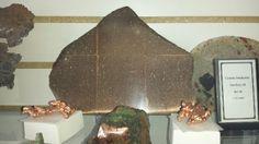 Firebrick specimen (Michigan Copper) at JP Gems & Jewelry, Holland, MI.