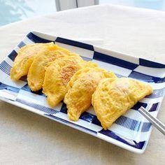 黃金元寶蛋餃│玉子餃子/台湾ミニオムレツ Menu, Eggs, Healthy Recipes, Cooking, Ethnic Recipes, Asia, Food, Menu Board Design, Kitchen