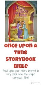 Once Upon a Time Storybook Bible, illustrated by Omar Aranda Feed upon your child's interest in fairy tales with this unique storybook Bible!