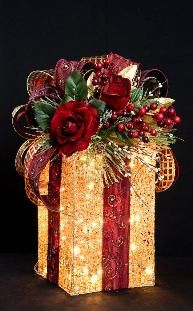 Use glass brick and cover in glitter.