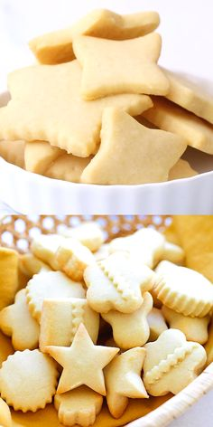 Butter Cookies - the BEST butter cookies recipe ever! These butter cookies are buttery, crumbly, melt in the mouth. Best cookies for Christmas and holidays. Easy Cookie Recipes, Sweet Recipes, Baking Recipes, Halal Recipes, Best Sugar Cookies, Sugar Cookies Recipe, Lemon Butter Cookies Recipe, Butter Biscuits Recipe, Best Butter Cookie Recipe Ever