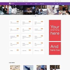 Meet Ad Board - responsive and clean Joomla template for online listings directory of ads. With classified Joomla template you will create your advertisement . Best Google Fonts, Slide Images, Joomla Templates, Job Ads, Real Estates, Cool Fonts, Vivid Colors, Extensions, Create Yourself