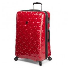 "it luggage - 3D Heart 28"" Spinner"