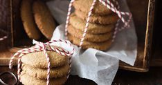 Packed with sugar and spice, these rustic ginger snap biscuits capture the essence of the festive season.