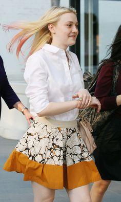 Dakota Fanning #celebrity #streetstyle