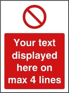 NO DOGS SIGN =300mm x 200mm DOG FOULING SIGN PLASTIC SIGN CUSTOMISABLE