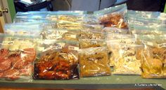 Thrifty Decorating: Guest Post : Summer Freezer Meals