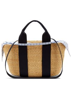 Muuñ George woven-straw tote Straw Tote, Best Bags, Little Bag, Gym Bag, Women Wear, Luxury, March, Collection, Shopping