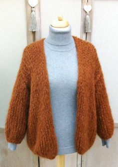 E-mail - ria sterck - Outlook Pullover Sweaters, Sweater Cardigan, Cardigans, Knitting Projects, Knitting Patterns, Make Your Own Clothes, Cardigan Pattern, Couture, Look Alike