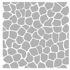 Art Stencil Mosaic Background - 6 x 6