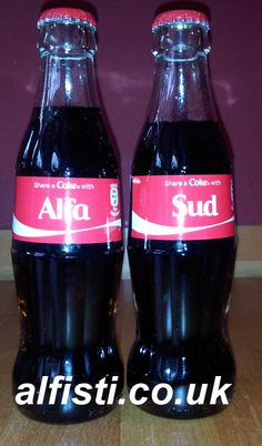 Alfasud Coke Bottles.