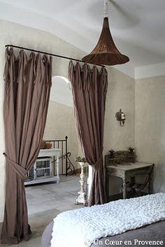 Chambre En Alcôve. Doorway CurtainCurtain ...
