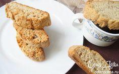 Банановое печенье-бискотти  | Кулинарные рецепты от «Едим дома!»