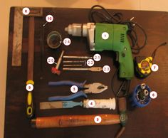 Some of the basic tools that you need to have to start woodworking as a hobby...