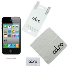 Check out this Aduro iPhone 4, 4S, 4G Screen Protector  with an MSRP of $13.00, but available for $0.00 only @ nomorerack.com