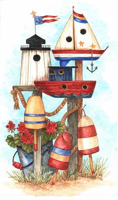 This is one of my images that has been licensed on house flags, needlework kits, floor mats and fabric. by Diane Knott